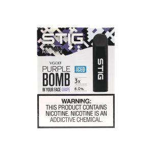 Stig Ice Purple Bomb (6%)   Disposable Vape
