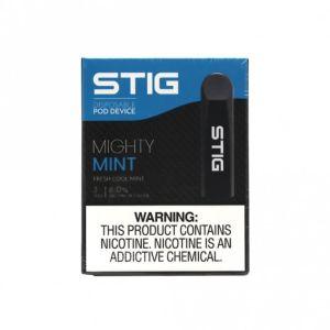 Stig Mighty Mint (6%)   Disposable Vape